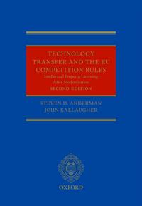 Technology Transfer And the New Eu Competition Rules