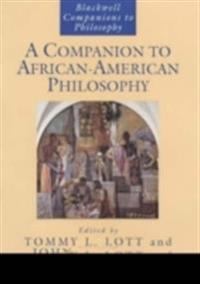 A Companion to African-American Philosophy