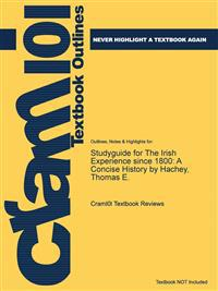 Studyguide for the Irish Experience Since 1800