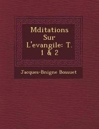 M¿ditations Sur L'evangile: T. 1 & 2