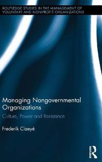 Managing Nongovernmental Organizations
