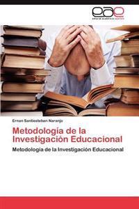 Metodologia de La Investigacion Educacional