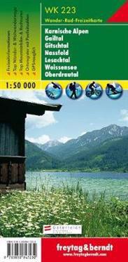 Naturarena Karnten, Gailtal, Gitschtal, Lesachtal, GPS