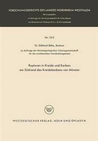 Rupturen in Kreide Und Karbon Am Südrand Des Kreidebeckens Von Münster