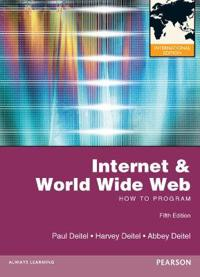 Internet and World Wide Web How to Program