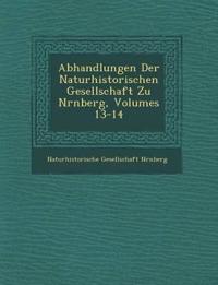 Abhandlungen Der Naturhistorischen Gesellschaft Zu N¿rnberg, Volumes 13-14