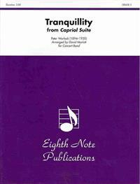 Tranquillity from Capriol Suite: Conductor Score