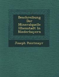 Beschreibung Der Mineralquelle H¿henstadt In Niederbayern