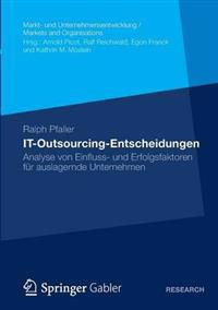 IT-Outsourcing-entscheidungen