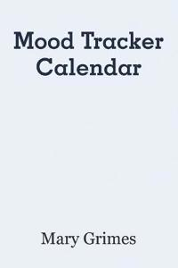 Mood Tracker Calendar