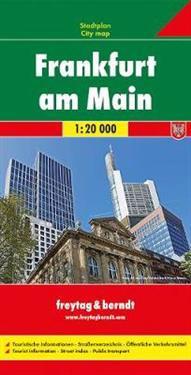 Frankfurt Kirjat Kartta Viikattu 9783707912180 Adlibris