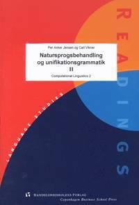 Natursprogsbehandling og unifikationsgrammatik