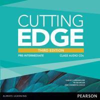 Cutting edge 3rd edition pre-intermediate class cd