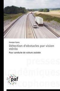 Detection D'Obstacles Par Vision Stereo