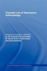 Thematic List of Descriptors