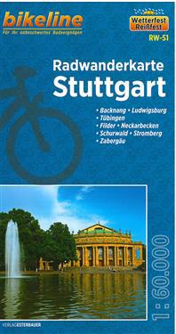 Bikeline Radwanderkarte Stuttgart 1 : 60 000
