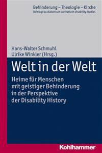 Welt in Der Welt: Heime Fur Menschen Mit Geistiger Behinderung in Der Perspektive Der Disability History