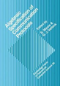 Algebraic Specification of Communication Protocols