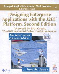 Designing Enterprise Applications With the J2Ee Platform