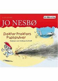 Nesbø, J: Doktor Proktors Pupspulver/CDs