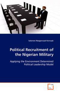 Political Recruitment of the Nigerian Military