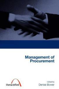 Management of Procurement (Construction Management Series) (Student Paperbacks)