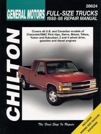 Chilton's General Motors-Full-Size Trucks 1988-98 Repair Manual