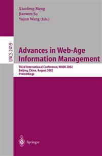 Advances in Web-Age Information Management