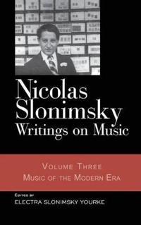 Nicholas Slonimsky Writings on Music