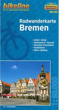Bikeline Radwanderkarte Bremen 1 : 60 000