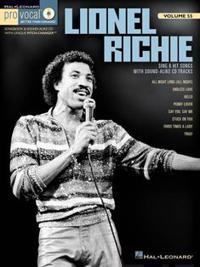 Lionel Richie: Pro Vocal Men's Edition Volume 55
