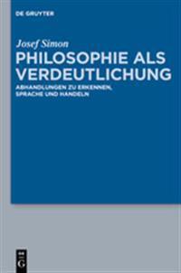 Philosophie als Verdeutlichung