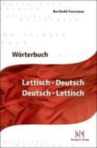 Wörterbuch Lettisch-Deutsch, Deutsch-Lettisch