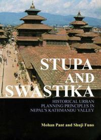Stupa and Swastika