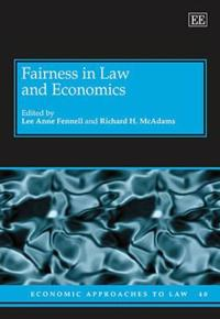 Fairness in Law and Economics