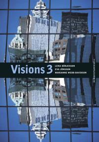 Visions 3 Allt-i-ett bok + ljudfiler + facit