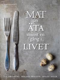 Mat att äta minst en gång i livet