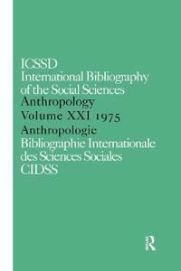 Anthropology 1975