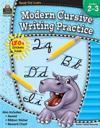 Ready-Set-Learn: Modern Cursive Writing Practice Grd 2-3
