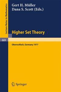 Higher Set Theory