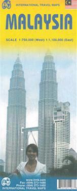 International Travel Maps Malaysia