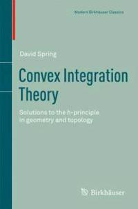 Convex Integration Theory: Solutions to the H-Principle in Geometry and Topology