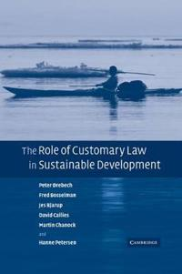 The Role of Customary Law in Sustainable Development