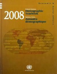 Demographic Yearbook 2008 / Annuaire demographique 2008