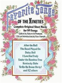 Favorite Songs of the 1890s