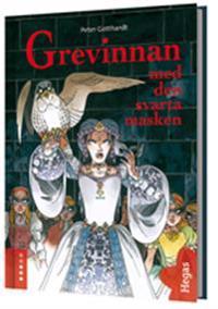 Grevinnan och den svarta masken (Bok+CD)