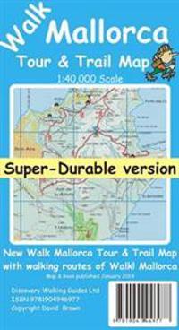 Walk Mallorca Tour & Trail Super-durable Map