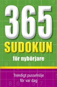 365 sudokun för nybörjare