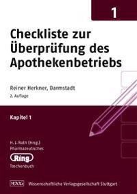 Checkliste zur Überprüfung des Apothekenbetriebs