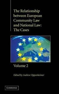The Relationship Between European Community Law and National Law
